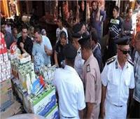 ضبط 70 قضية تموينية في حملة مكبرة بالجيزة