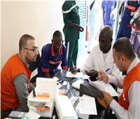 بالصور  الصحة: فحص 14838 مواطنًا أفريقيًا بدولتي تشاد وجنوب السودان