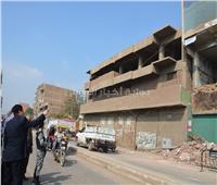 فيديو وصور  انهيار مصنع في أبو الغيط بالقناطر بسبب تسرب المياه