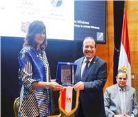 جامعة طنطا تكرم وزيرة الهجرة خلال إطلاق مبادرة «جامعتك لها حق عليك»