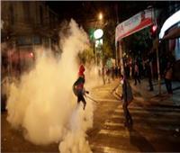 شرطة بوليفيا تشتبك مع المتظاهرين وتمنعهم من الوصول للقصر الرئاسي