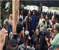 صور| توافد نجوم الفن لتشييع جنازة الراحل هيثم أحمد زكي