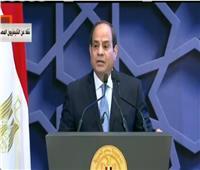 فيديو| الرئيس السيسي: لن أنسى الشر وأهله.. والدفاع عن مصر أولوية