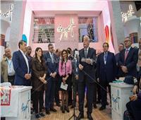 «المشاط» تلتقى رئيس البنك الأوروبي لإعادة الإعمار بفعاليات بورصة لندن