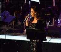 ريهام عبد الحكيم تتألق في حفلها بمهرجان الموسيقى العربية