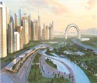 حقيقة إهدار كميات كبيرة من المياه لري المساحات الخضراء داخل العاصمة الإدارية الجديدة