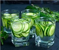 «ديتوكس الخيار والماء» ينقص الوزن ويخلص الجسم من السموم