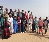 «أفرو أكت» تنظم حفلا للشباب الأفريقى بين أحضان الأهرامات والنيل