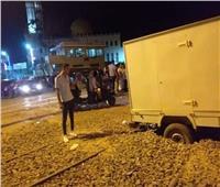 عودة حركة القطاراتعلى خط «الإسكندرية - القاهرة» بعد توقفها بأبو حمص