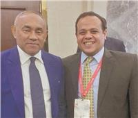حوار| رئيس الكاف: أفريقيا محظوظة باستضافة مصر لبطولتي الكبار والصغار