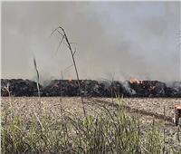 السيطرة على حريق هائل بالدقهلية..والخسائر تتخطى ٦ ملايين جنيه