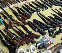 ضبط 1070 قطعة سلاح بقنا