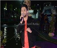 صور| أحمد جمال يتألق في حفل نادي بروسيا مصر