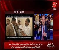 عمرو أديب عن زيارة وفد من نيابة أمن الدولة لسجون طرة: مفيش حاجة نخاف منها
