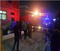 السيطرة على حريق بجوار مدينة الطالبات بجامعة بورسعيد.. صور