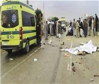 مصرع وإصابة 18 شخصًا في حادث انقلاب سيارة بالمنيا
