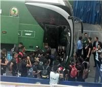 وصول منتخبي مالي والكاميرون لإستاد القاهرة
