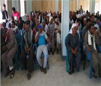 تسليم 498 فدانًا لـ166 شابًا ضمن مشروع الظهير الزراعي بالوادي الجديد