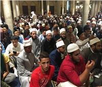 بمشاركة الآلاف الجامع الأزهر يعقد «مجلس حديثي» بمناسبة المولد النبوي