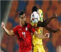 فيديو  غانا تباغت مصر بهدف من خطأ دفاعي