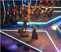 صور| فايا يونان تفتتح حفلها بمهرجان الموسيقى بأغنية «يا قاتلي»