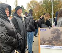 بالصور| «صناع السلام» و«تحالف حقوق الإنسان والتنمية بجنيف» يشاركان بوقفة أمام الأمم المتحدة