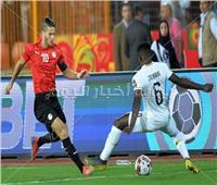 الجماهير تهتف لـ رمضان صبحي بعد الفوز على غانا