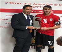رمضان صبحي أفضل لاعب في مباراة مصر وغانا
