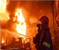 فيديو| السيطرة على حريق في مخزن أخشاب بحدائق القبة