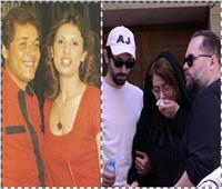 شاهد  «ألبوم ذكريات» النجم الراحل محمود عبد العزيز مع زوجته الأولى