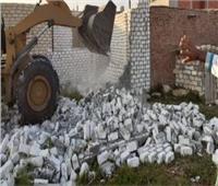 إزالة التعديات على 18فدان من أراضي الدولة بالإسماعيلية
