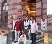 ياباني و4 ألمان.. أول وفد سياحي يزور قصر الأمير يوسف كمال بنجع حمادي