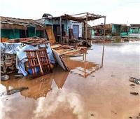 صور| السيول تجرف المنازل والأكشاك بـ«حلايب وشلاتين»