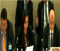 فيديو| مايا مرسي: الدستور المصري يحمي المرأة من العنف