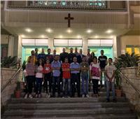قادة كشافة الكاثوليكتلتقيبالأنبا باخوم