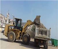 رفع 581 طن قمامة ومخلفات صلبة في حملات نظافة مكبرة بسوهاج