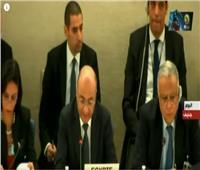 فيديو| إشادة دولية من «جنيف» بدور مصر في مكافحة الإرهاب