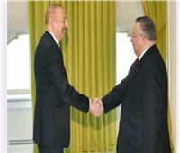 رئيس «أذربيجان» يستقبل نائب رئيس مجلس النواب
