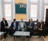صور| سفير خادم الحرمين الشريفين بالقاهرة يزور جامعة الأزهر