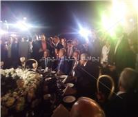 وصول وزير التعليم والتموين لحفل افتتاح مدرسة «إيجيبت جولد» بالعبور