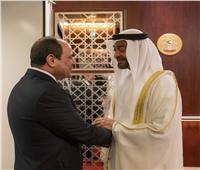 محمد بن زايد مرحبا بالسيسي: علاقات الإمارات ومصر تاريخية