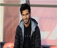 فيديو| حمدي فتحي يظهر في مران الأهلي اليوم
