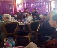 صور| حمادة هلال يشارك في حفل افتتاح مدرسة «المشغولات» بالعبور