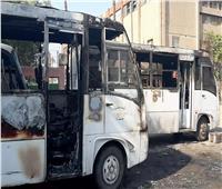 فيديو وصور| التفاصيل الكاملة لحريق جراج سيارات في بولاق الدكرور