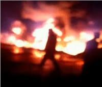 الصحة: مصرع 6 وإصابة 15 في حادث اشتعال خط البترول بإيتاي البارود