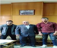 محمد سمره رئيسًا لاتحاد حاسبات ومعلومات المنوفيةوطارق شندي نائبًا له