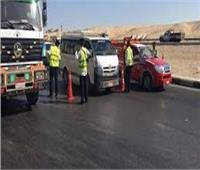 مدير المرور يتفقد الخدمات الأمنية على الطرق السريعة الرابطة بين المحافظات