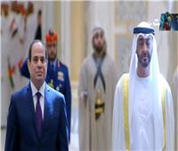 فيديو| مراسم استقبال رسمية للسيسي في قصر الوطن بأبوظبي