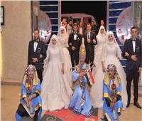حفل زفاف جماعي لـ٤ عرائس بالشرقية
