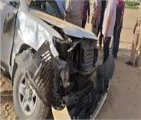 إصابة رئيس مباحث مطار أسيوط في حادث سير